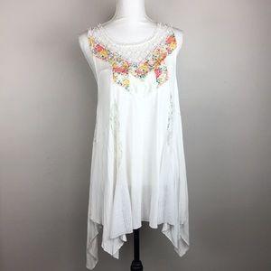 Free People Boho Floral Sleeveless Tunic